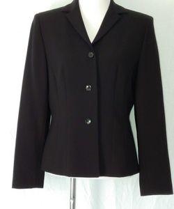 Ann Taylor New Black Blazer Sz 10